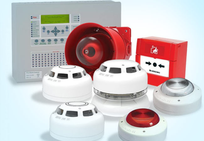 Connect Security Provides Fire Alarms