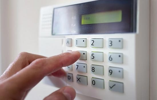 Know your home security system master code