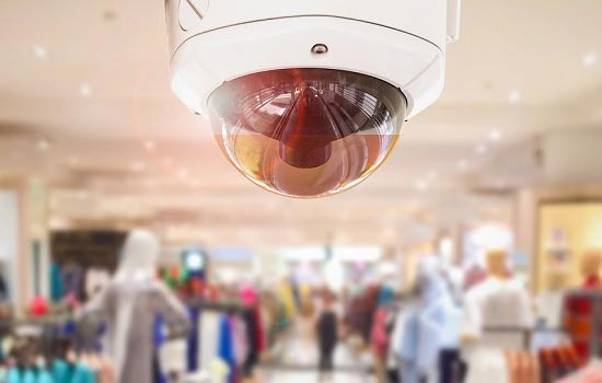 Commercial Security includes commercial security cameras